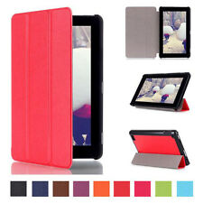 """Tri-Fold Leather Smart Stand Case Cover for Amazon Kindle Fire 7""""  US Stock"""