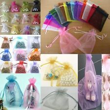 Wedding Favor 50pcs Jewellery Packing Pouches Gift Bags Candy Bags Organza