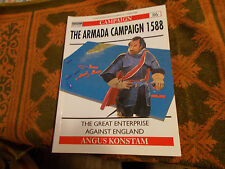 Osprey Campaign Ser Armada Campaign 1588, The - The Great Enterprise Ag SC MINT