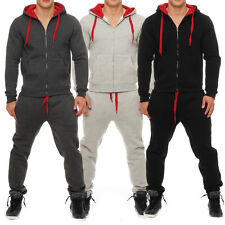 Qbuk Men's Jogging Suit Tracksuit Sweatshirt Trousers Trackies Hoodie