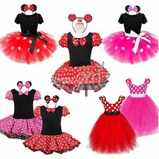 Lovely Kids Girls Baby Toddler Outfits Party Costume Tutu Dress + Headband