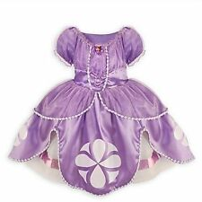 Disney Store Princess SOFIA THE FIRST DRESS Gown Sophia Costume 18 24 mths 2 / 3