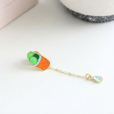 Colorful Sweet Cute New Green Cactus Brooch Kids Girls Gift Fashion Pin