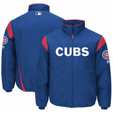 Chicago Cubs Majestic On-Field Therma Base Thermal Full-Zip Jacket - MLB