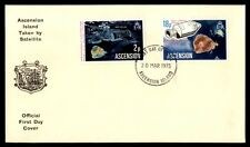 Ascension Island 1975 Space Satellite Cachet First Day cover