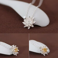 Short Necklace Lotus Necklaces Ladies Jewelry Necklace For Women Collar Choker