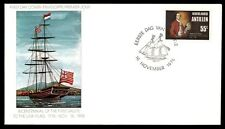 Netherlands 1976 Ships Antilles Fdc Bicentennial 55 Cents Cover Unsealed Unaddre