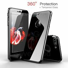 Glossy Shockproof Jet Black Ultra Thin PC Back Cover Case for iPhone 6 6S 7 Plus