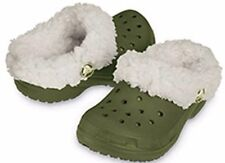 Crocs Kids Mammoth Army(Green)/Oatmeal(Light Tan) Infant & Toddler Clogs