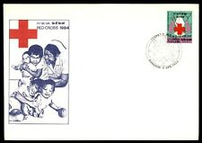 April 6, 1964 Bangkok Thailand Red Cross illustrated first-day cover
