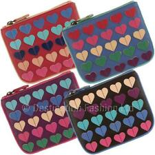 NEW*Mala Leather Multi Heart Pinky Coin Purse