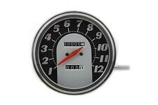 Tombstone Style 2:1 Speedometer,for Harley Davidson motorcycles,by V-Twin