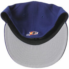Durham Bulls New Era Logo Reverse Fitted Hat - Royal - MiLB