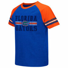 Florida Gators Colosseum Youth Houseman Raglan Striped T-Shirt - Royal - NCAA