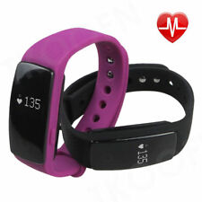 Bluetooth Smart Wristband  Fitness Activity Tracker with HeartRate Sleep Monitor