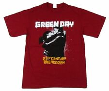 Green Day Kiss 21st Century Breakdown 2009 Tour US CDN Red T Shirt New Official