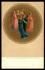 Angeli Angels Group Italy 1900S Early 346 Postcard