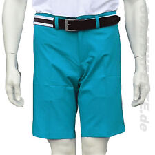 J. LINDEBERG GOLF MEN'S SHORTS SOMLE LIGHT POLY AQUA GREEN