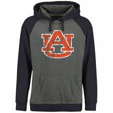 Auburn Tigers Classic Primary Pullover Hoodie - Ash/Navy - NCAA