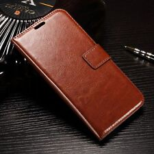 Luxury Leather Case Magnetic Flip Card Wallet Cover For Various Mobile Phones