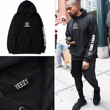 Black I Feel Like Pablo Yeezus Tour Graphic Sweater Printed Hoodie Hoody Unisex