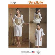 NEW SIMPLICITY 8162 OUTLANDER UNDERGARMENTS PATTERN Misses' 18th Century