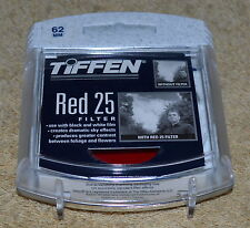 NEW TIFFEN RED 25 LENS FILTER NEW IN CASE MADE IN USA