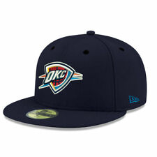Oklahoma City Thunder New Era Official Team Color 59FIFTY Fitted Hat - NBA