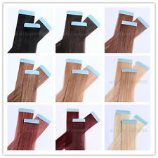 "One set of 18"" Remy Tape Skin Hair Extensions, 20pcs & 50g, 15 colors available"