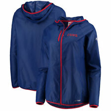 Chicago Cubs Majestic Women's Absolute Dominance Full-Zip Jacket - Royal - MLB