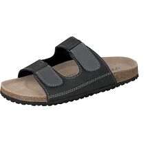Softwaves Men's Sandals Mules Slippers black / grey Casual Shoes