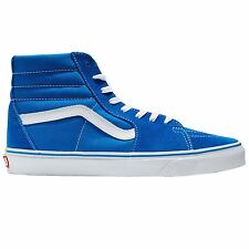 Vans SK8-Hi Blue White Womens Trainers