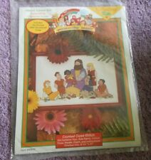 YOUR CHOICE:Just CrossStitch Counted Cross Stitch Kit THE BEGINNERS BIBLE SERIES