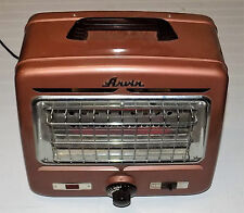 VINTAGE ARVIN MODEL 5734 THERMOSTAT CONTROLLED ELECTRIC HEATER ART DECO