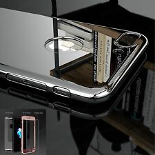 Luxury Ultra Thin 360° Full Body Shockproof Back Mirror Case for iPhone 6 6S 7