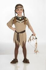 Native American Indian Princess Girls Child Costume NEW Thanksgiving