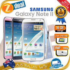 (NEW SEALED BOX) SAMSUNG GALAXY NOTE 2 II N7105 4G LTE 16GB UNLOCKED + OZ WTY
