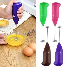 Electric Handle Coffee Milk Egg Beater Whisk Frother Mixer Cooking Tool IW