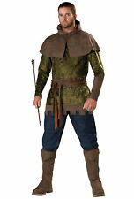Robin Hood of Nottingham Medieval Warrior Hero Archer Thieves Men Costume