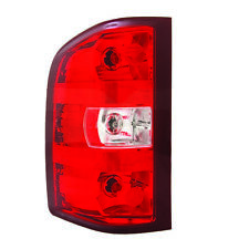 NEW LEFT TAIL LIGHT GMC SIERRA 2500 3500 HD SLE SLT WT DUAL REAR 2011 20840271