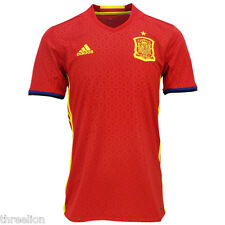 BNWT Adidas 2016/17 SPAIN ESPANA Home Soccer Jersey Football Shirt Trikot AI4411