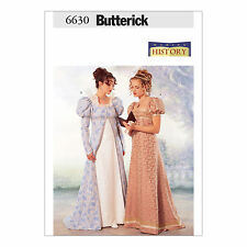 Butterick 6630 Sewing Pattern to MAKE Out of Print Historic Coat & Dress Regency