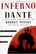 The Inferno of Dante ROBERT PINSKY 1996 Paperback ITALIAN DIVINE COMEDY English