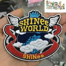 SHINEE Cloth Embroidery Badge Pin ONEW JONGHYUN TAEMIN MINHO Bag Accessory KPOP