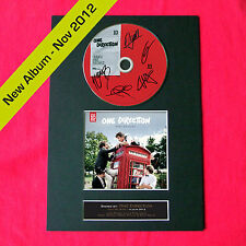 ONE DIRECTION Take Me Home Album Signed CD COVER MOUNTED A4 Autograph Print 25