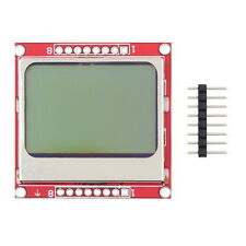 New 84*48 LCD Module Blue Backlight Adapter PCB for Nokia 5110 Arduino NU