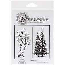 Stacy Stamps Cling Mounted Stamps-The Woods 400100240809