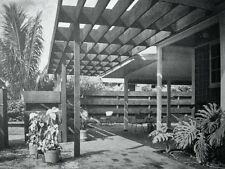 1958 Mid Century Modern Architecture REMODELING YOUR HOME Design Plans Patio