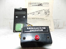 American Flyer 706 remote Uncoupler, M2440 Instructions and Operating Button