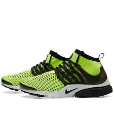 Nike Air Presto Flyknit Ultra Mens Size Running Shoes Volt Black Whit 835570 701
